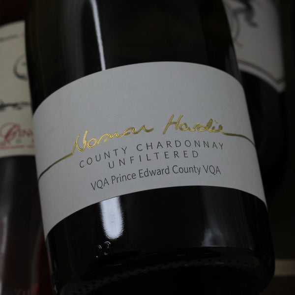 Norman Hardie County Chardonnay Unfiltered 2014, Prince Edward County, Canada (750ml)