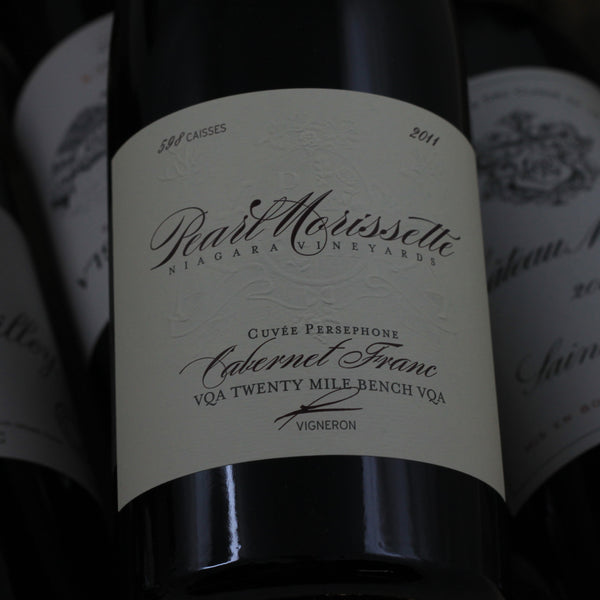 "Pearl Morissette Cuvee Persephone ""Madeline"" Cabernet Franc 2012, Twenty Mile Bench, Canada (750ml)"