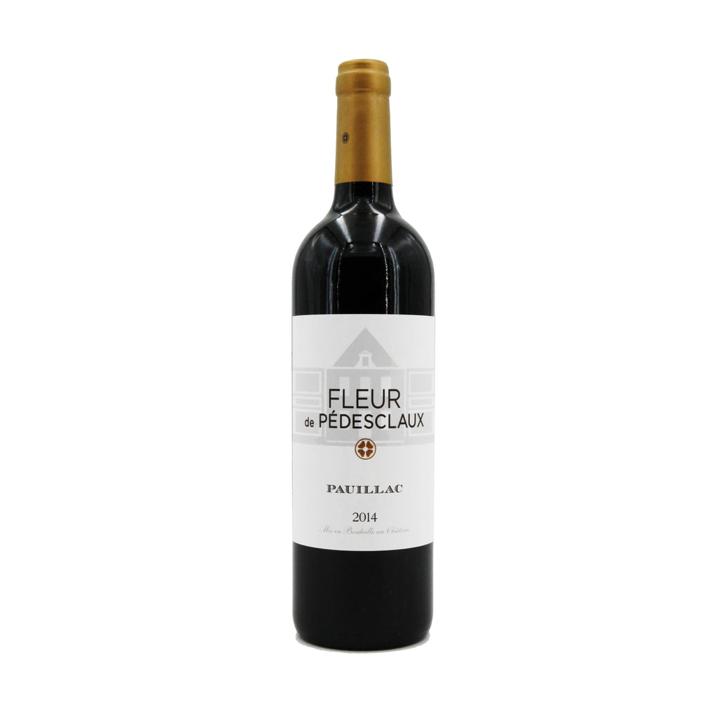 Fleur de Pedesclaux 2014, Bordeaux, France (750ml)