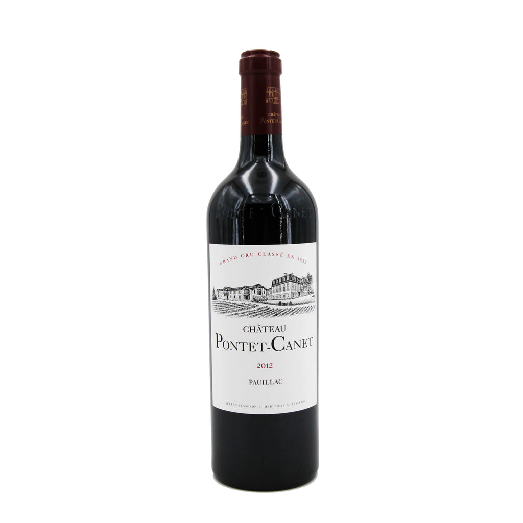 Chateau Pontet Canet 2012, Bordeaux, France (750ml)