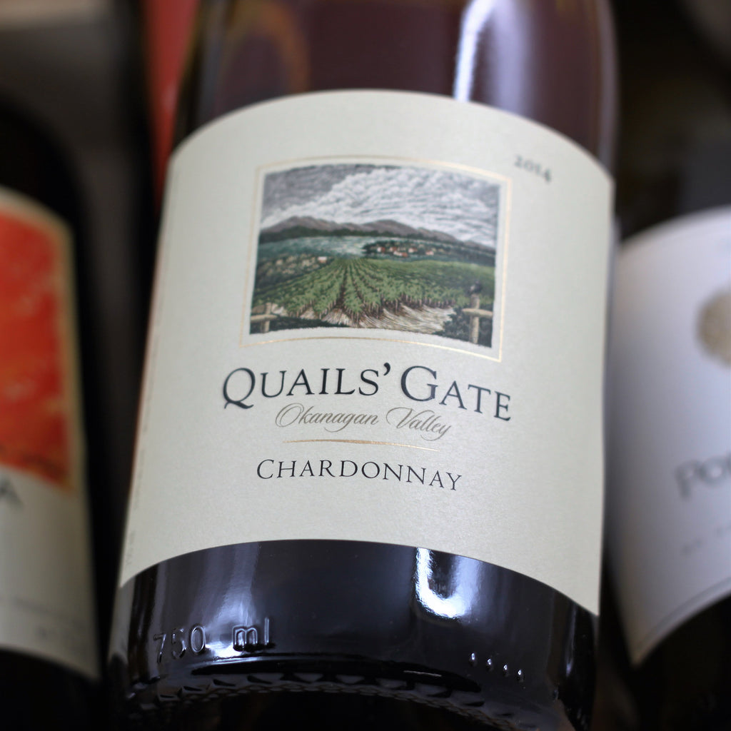 Quails' Gate Chardonnay 2014, Okanagan, Canada (750ml)