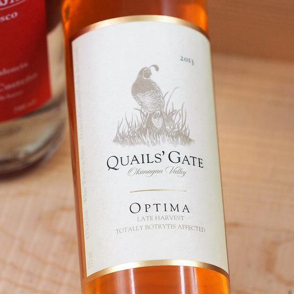 Quails' Gate Late Harvest Optima 2013, Okanagan, Canada (375ml)