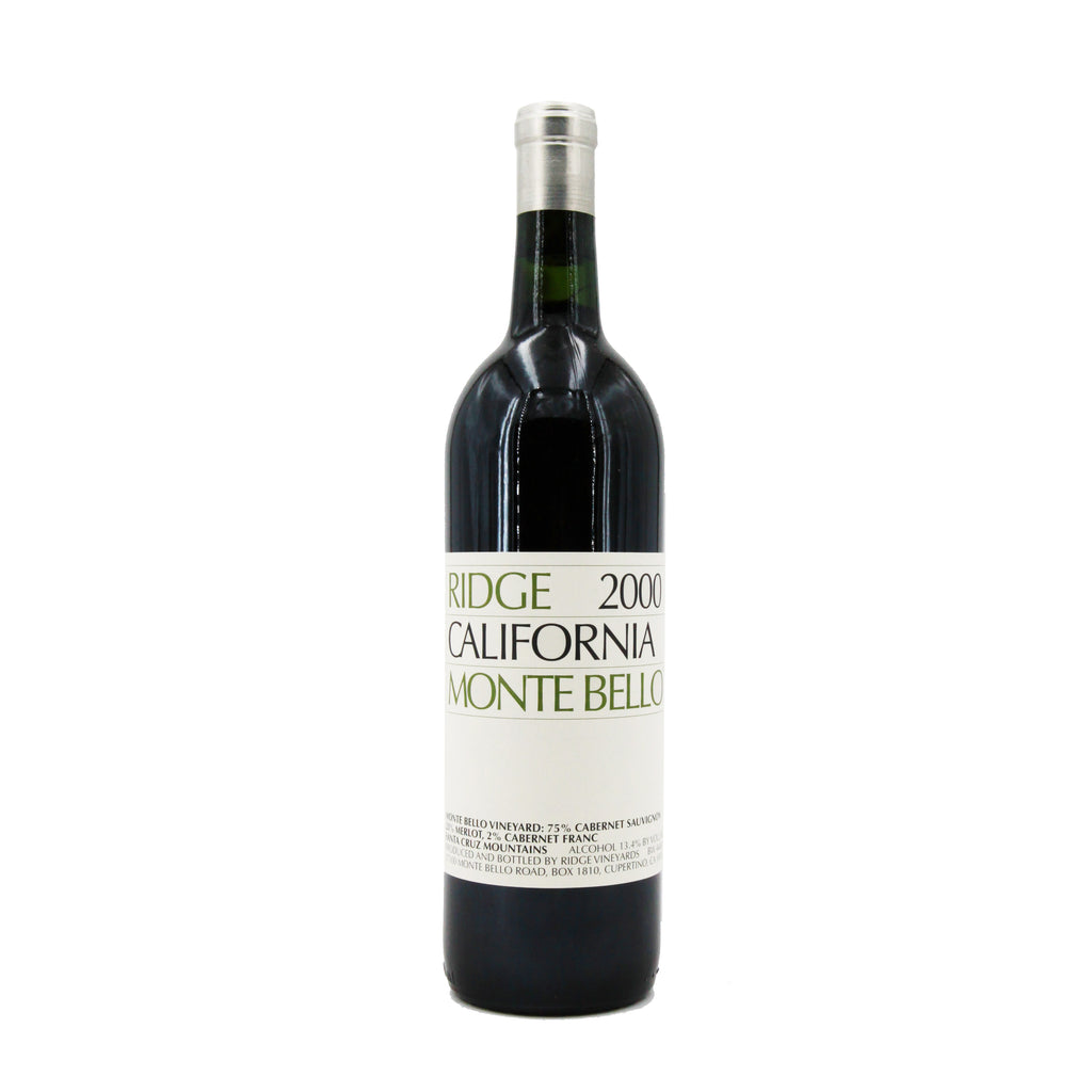 Ridge Monte Bello 2000, Cupertino, USA (750ml)