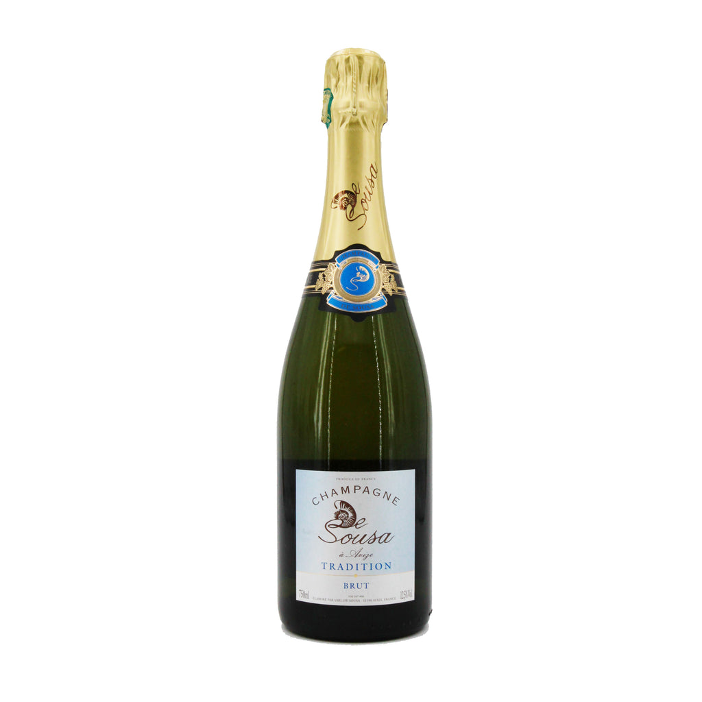 Champagne de Sousa Brut Tradition NV, Avize, France (750ml)