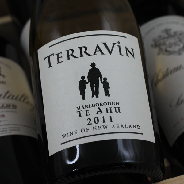 TerraVin Te Ahu Sauvignon Blanc 2011, Marlborough, New Zealand (750ml)