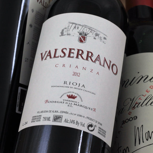 Valserrano Crianza 2015, Rioja, Spain (750ml)