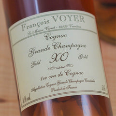 Francois Voyer Cognac XO Gold Exception Grande Champagne, France (500ml)