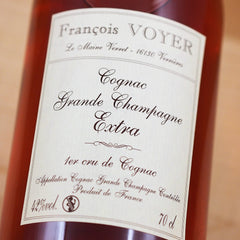 Francois Voyer Cognac Extra Grande Champagne, France (700ml) - Classic Bottle