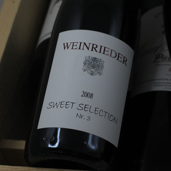 Weinrieder Sweet Selection No. 3 TBA Chardonnay 2008, Weinviertel, Austria (375ml)
