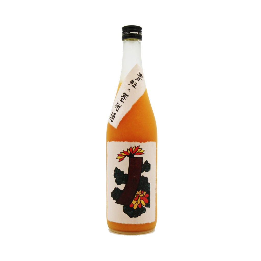 Yagi Shuzou Aotan no Mikanshu (Orange Liquor), Nara, Japan (720ml) 青短の蜜柑酒 橘子酒 (2021/03)
