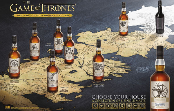 Game of Thrones Whisky Collection (8 Bottles)