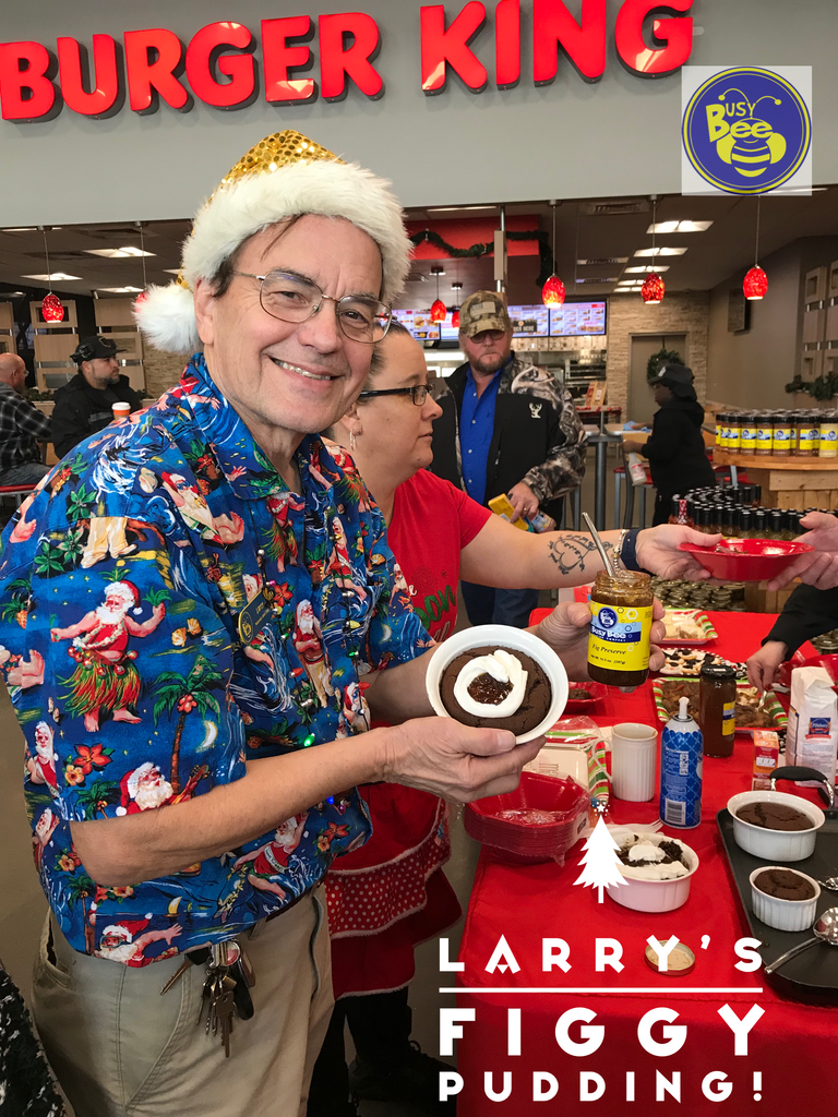 Larry's Figgy Pudding