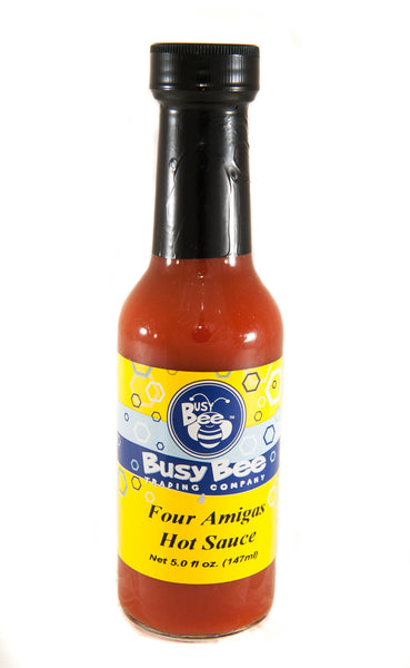 Four Amiga's Hot Sauce