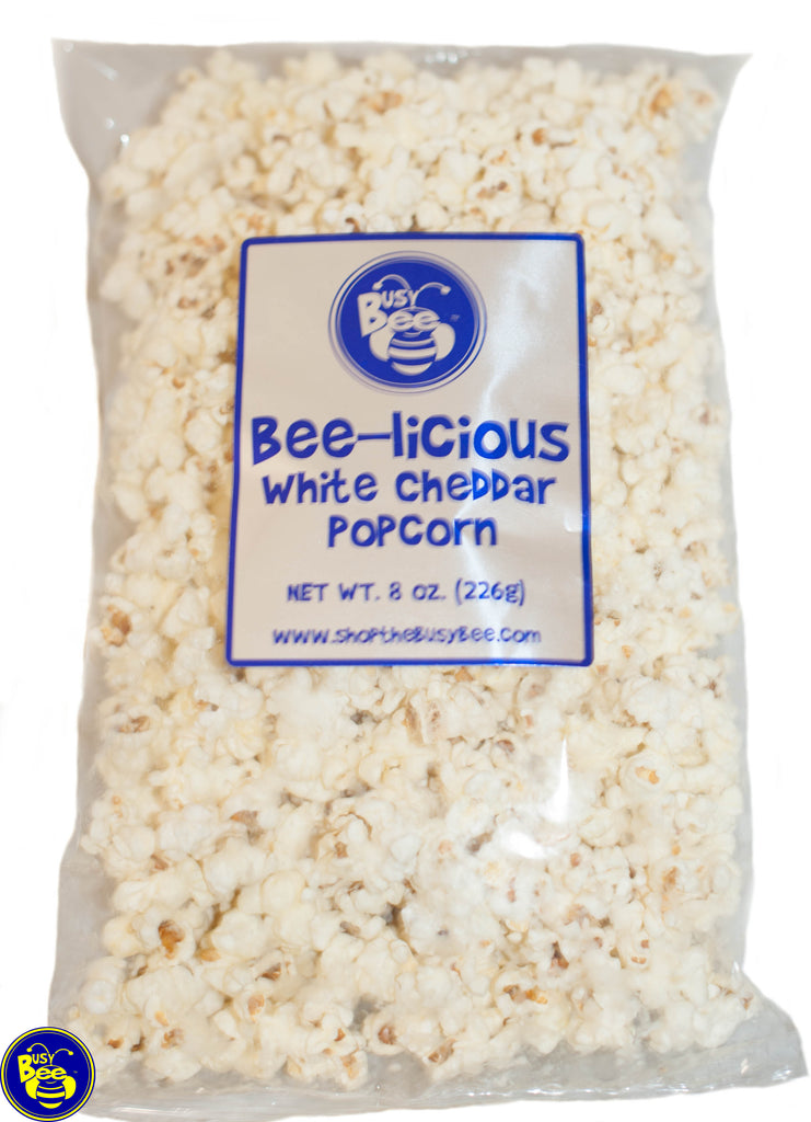 Bee-licious White Cheddar Popcorn