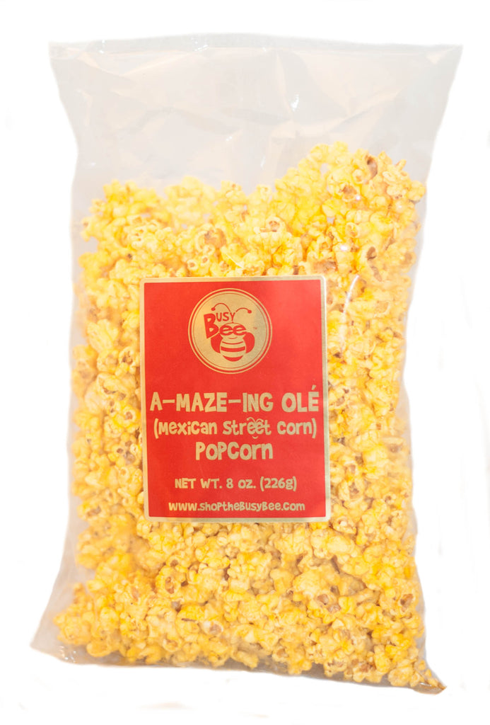 A-MAZE-ING Ole Mexican Street Corn Bee-licious Popcorn