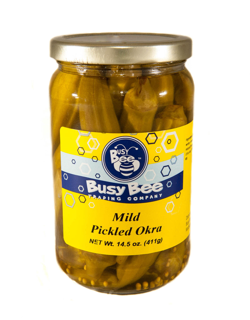 Mild Pickled Okra