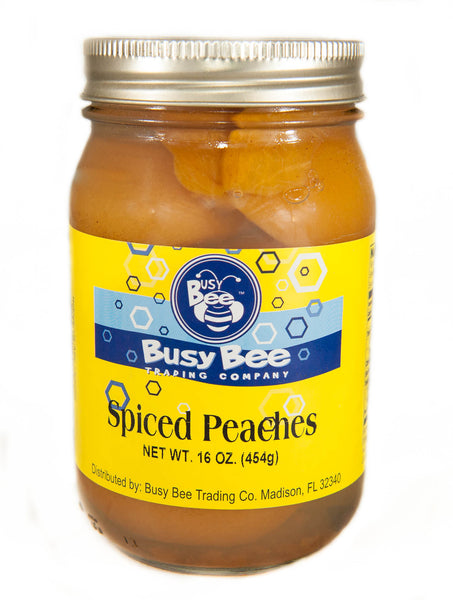 Spiced Peaches (24 oz jar)