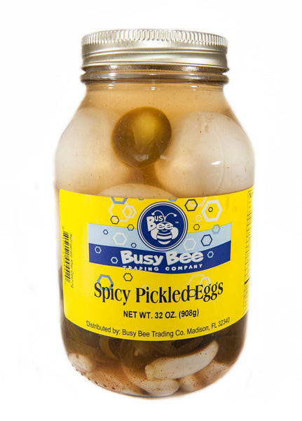 Pickled Eggs- Spicy