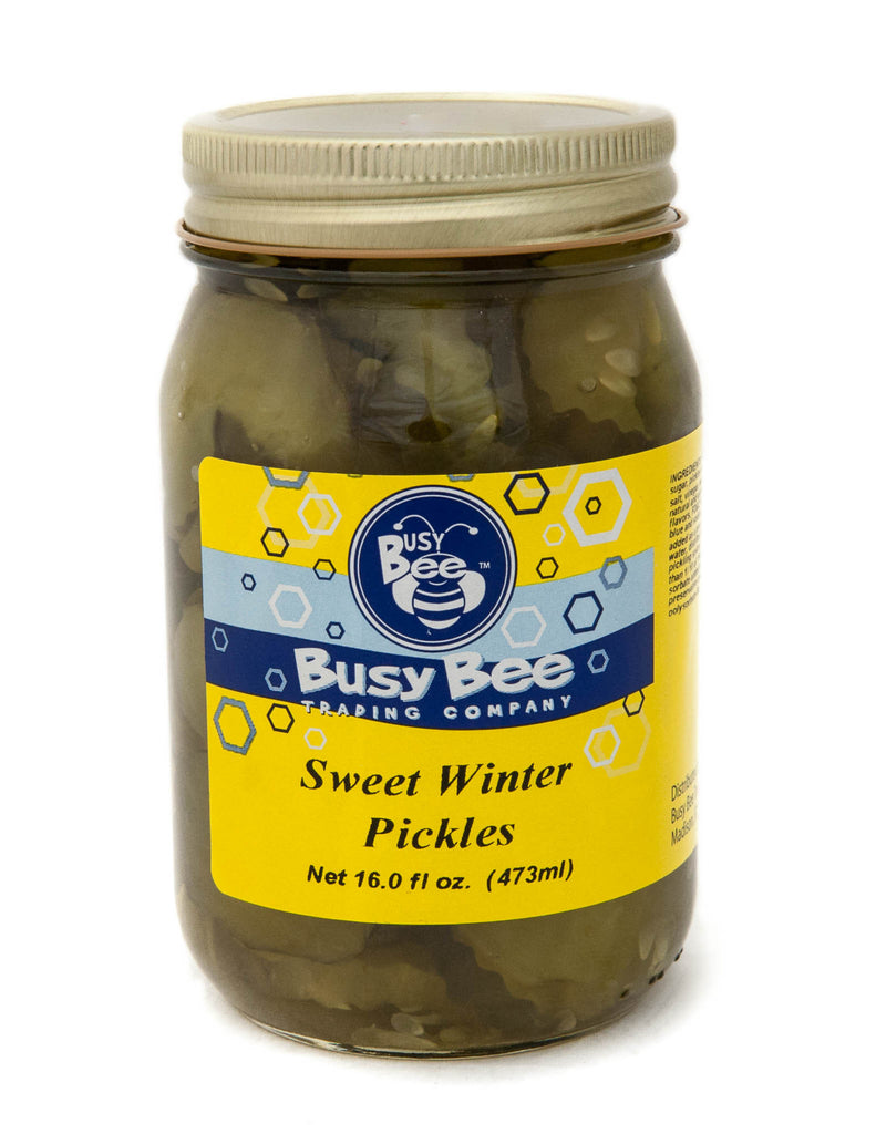 Sweet Winter Pickles