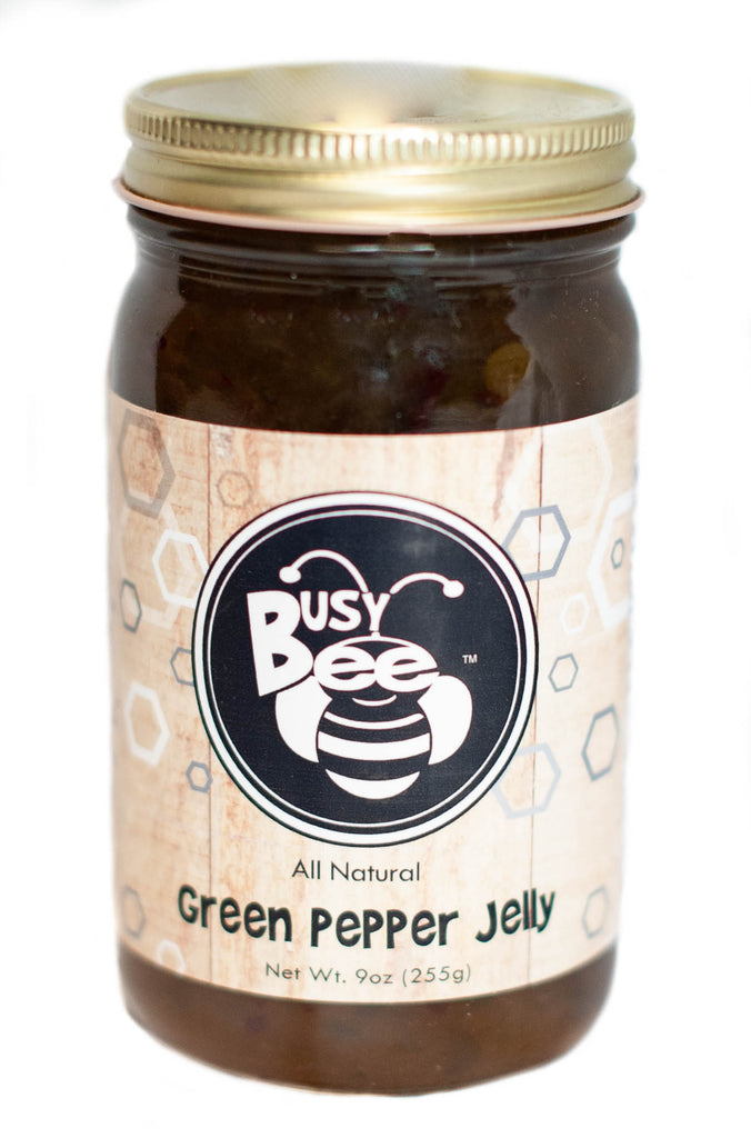 Green Pepper Jelly-All Natural