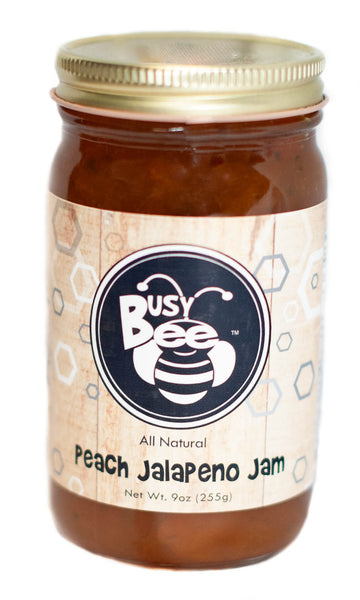 Peach Jalapeno Jam-All Natural