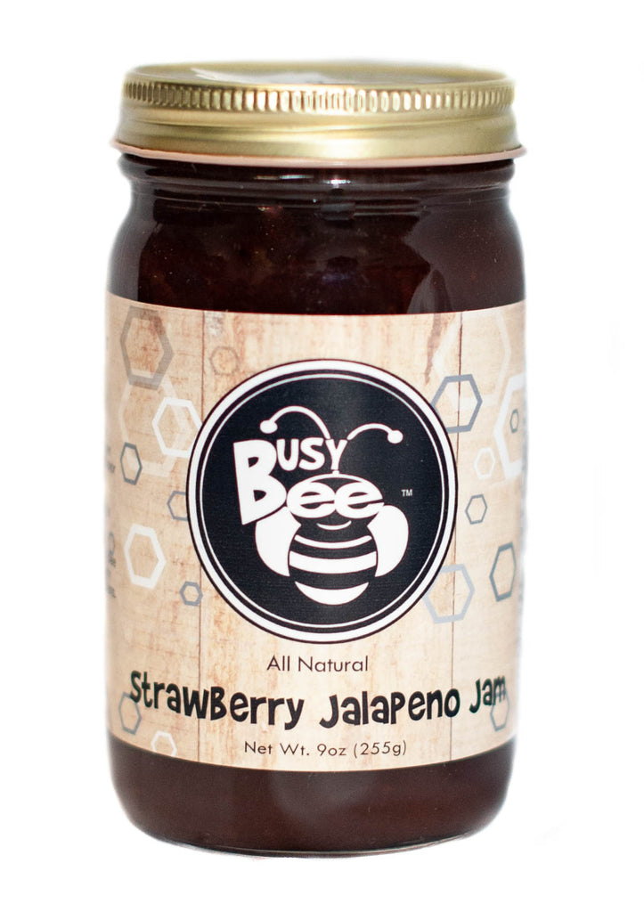 Strawberry Jalapeno Jam -All Natural