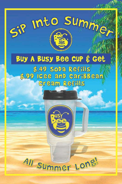 Busy Bee Cup