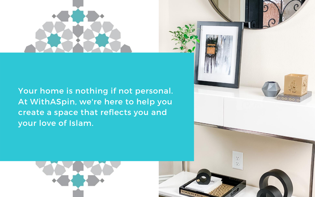 Islamic Home Decor | Decor for Muslim Home | WithASpin