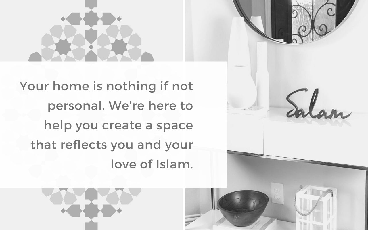 Islamic Decor | Home Decor for Muslims | WithASpin