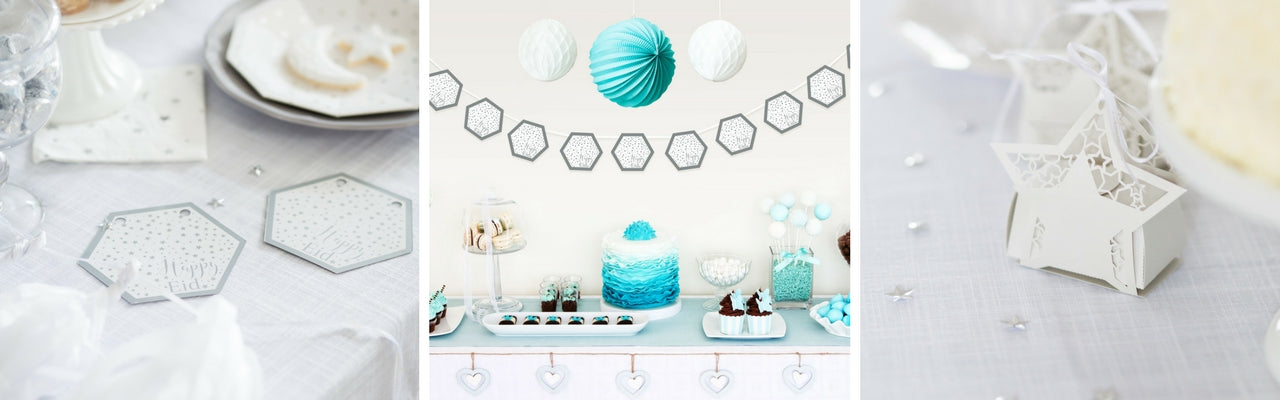 Tiffany Blue Eid Decor Collection