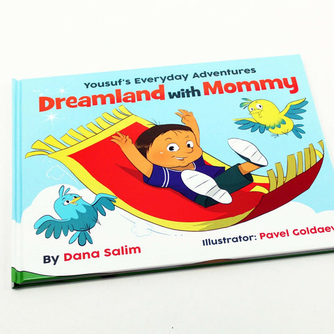 Dreamland with Mommy, a bedtime book for Muslim kids