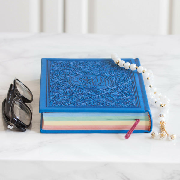 Color pop Holy Quran - Blue
