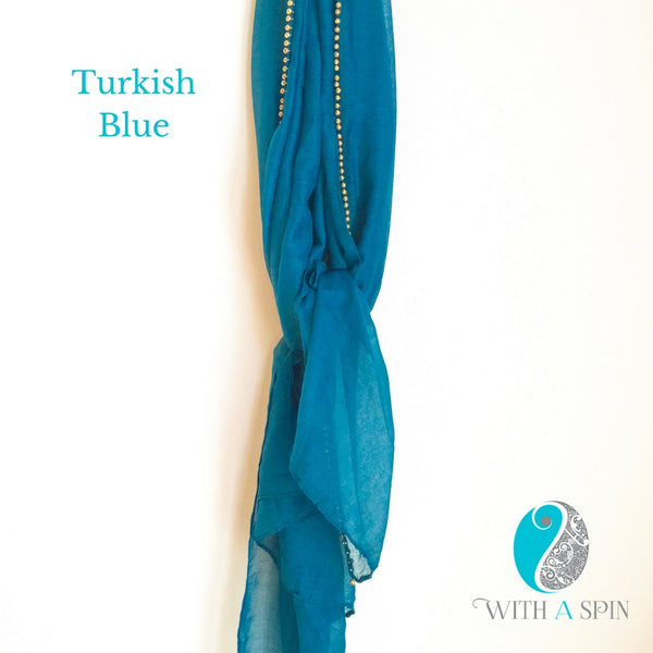 Turkish Blue hijab
