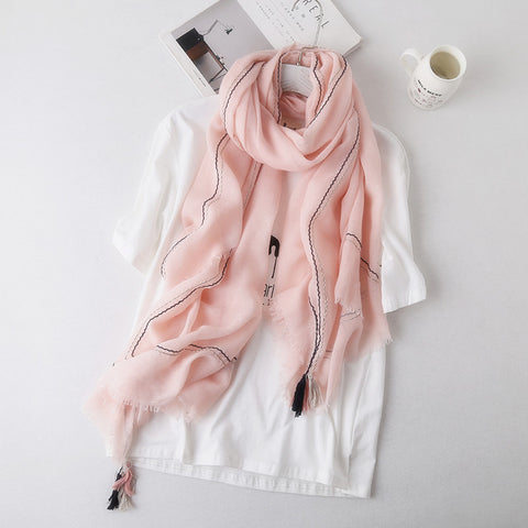 Light pink hijab - WithASpin