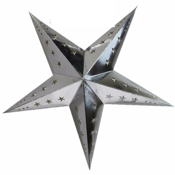 Silver Star lantern decoration set