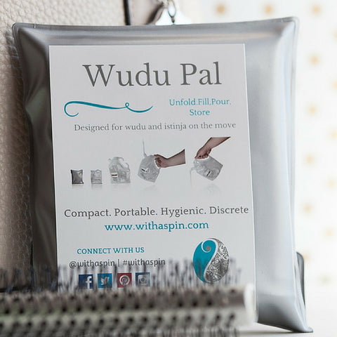 Wudu Pal - On the go istinja kit