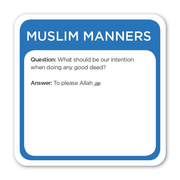 5Pillars Trivia Burst : Muslim Manners Edition (English) | Islamic Games and Toys