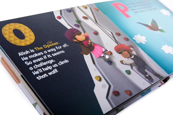 Islamic board book for children | ABC of Allah loves me