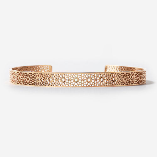 Islamic pattern bracelet - Rose Gold