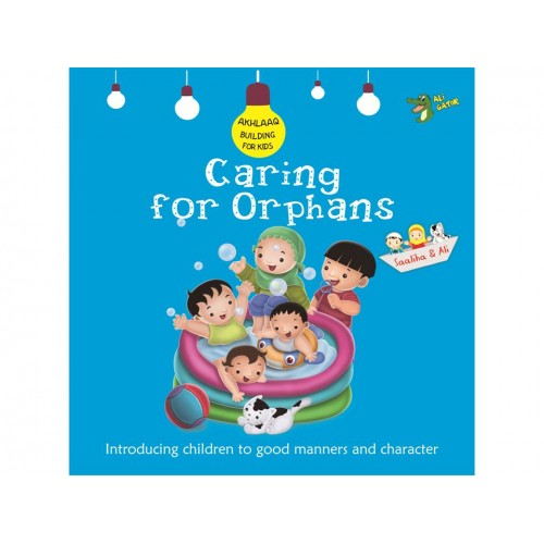 Character building books for children - Caring for orphans