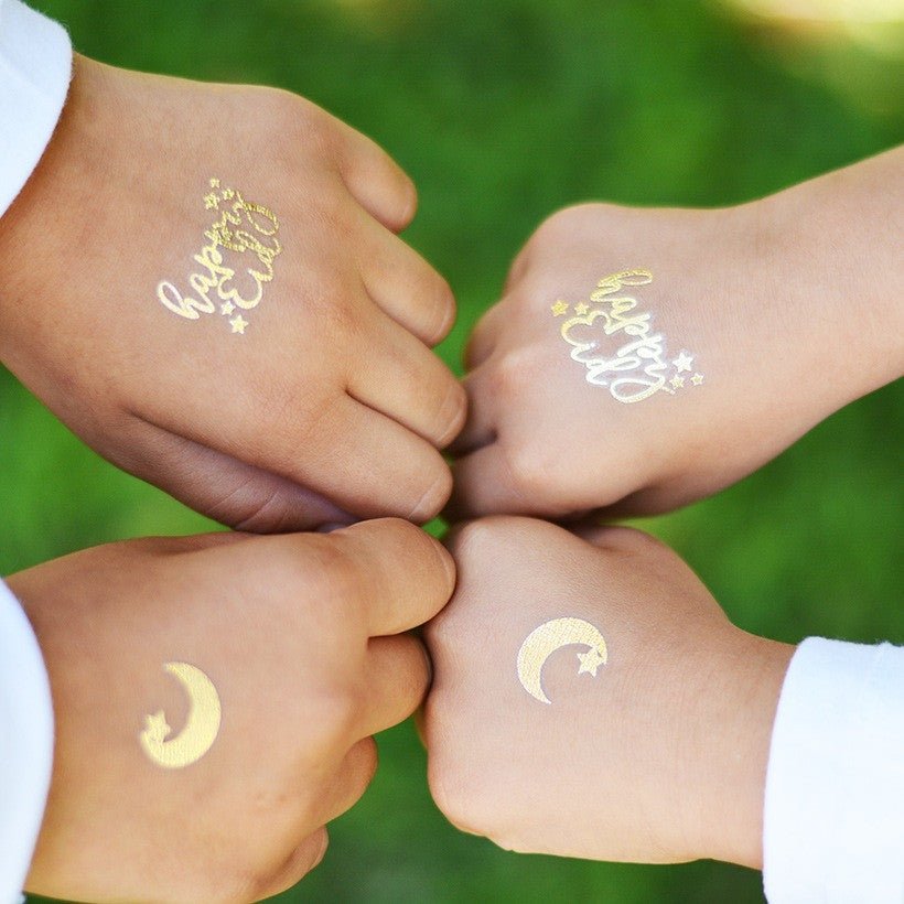 Gold Flash Tattoo - Eid and Ramadan