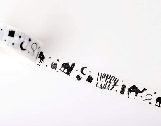 Eid arts and crafts - Eid washi tape