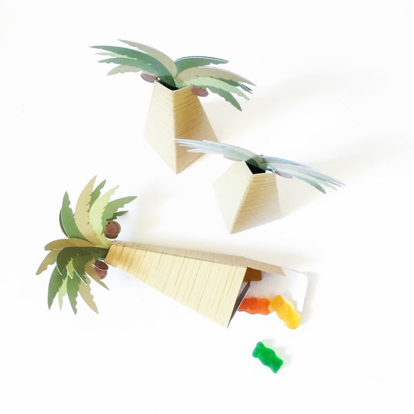 Palm Tree Eid favor box
