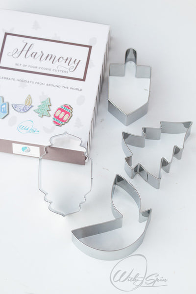Harmony Cookie Cutter | Interfaith Holiday Cookie Cutter Set
