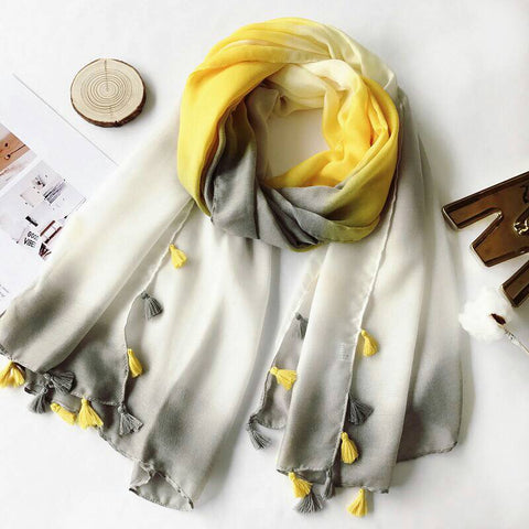 Yello Ombre hijab