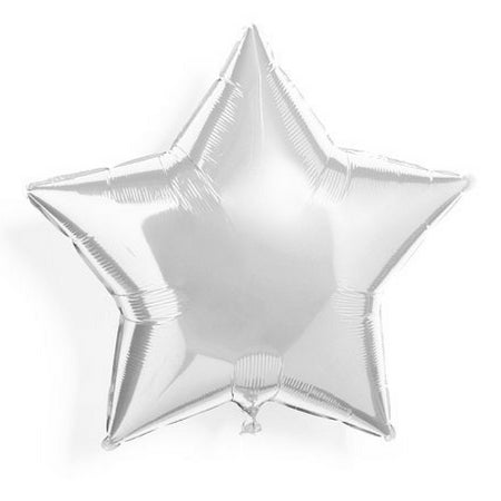 Silver foil Star balloon - Ramadan Eid Decor