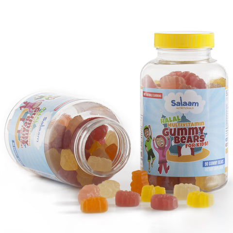 Children's Halal Gummy Multivitamins