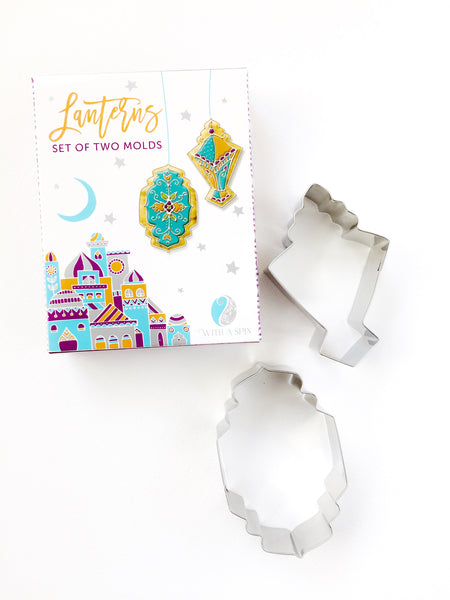 Lantern cookie cutter set | Islamic shape