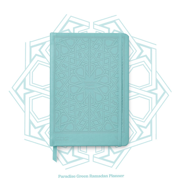 Paradise Green Edition Ramadan Legacy Planner - withaspin