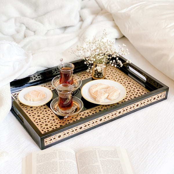 Zaina Luxury Serving Tray - Rectangle